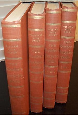 THE READER'S ENCYCLOPEDIA 4 VOLUME SET: BENET, WILLIAM ROSE