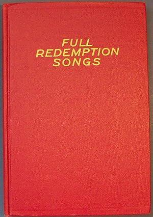 Full Redemption Songs: BENNARD, GEORGE