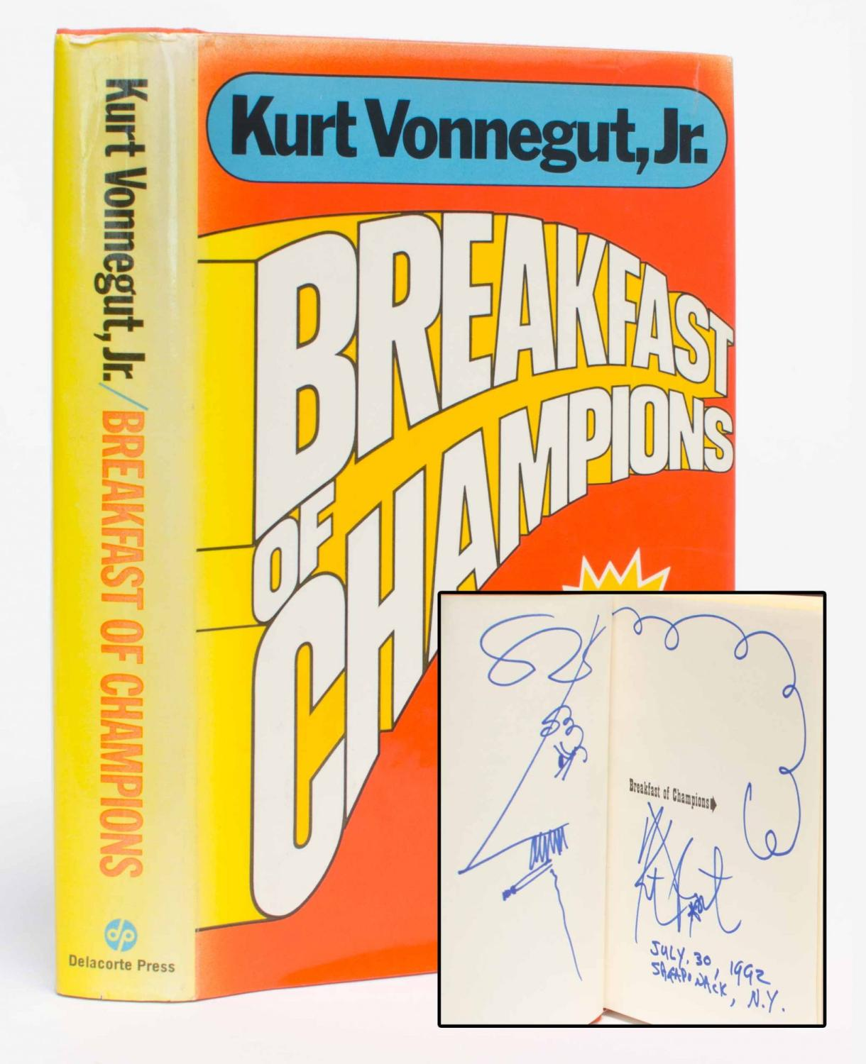 an analysis of vonneguts breakfast of champions In breakfast of champions he is a visionary who accepts the invitation to appear at the midland city arts festival in order to confront americans' romantic notions of.