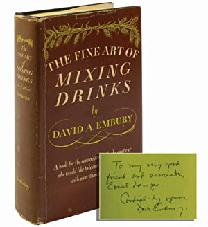 The Fine Art of Mixing Drinks (Inscribed first edition)
