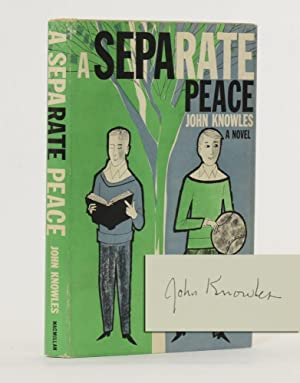 A Separate Peace (Signed first edition)
