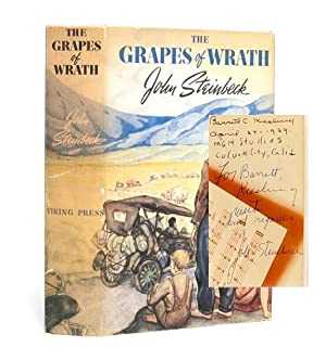 The Grapes of Wrath (Presentation copy): Steinbeck, John