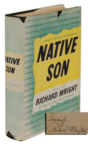 NATIVE SON (Signed First Edition)