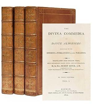 The Divina Commedia of Dante Alighieri, Consisting: Dante Alighieri; Rev.