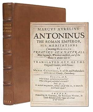 Marcus Aurelius Antoninus the Roman emperor, his: Marcus Aurelius, Emperor