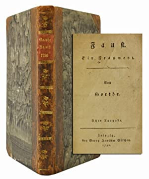 Faust. Ein Fragment: Goethe, Johann Wolfgang