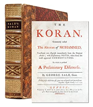 The Koran, Commonly called The Alcoran of: Sale, George