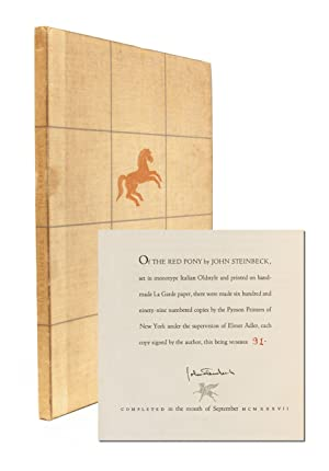 The Red Pony (Signed Limited Edition): Steinbeck, John