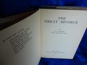 The Great Divorce: C.S, Lewis