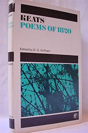 John Keats Poems of 1820 and The: Gillham, D. G.