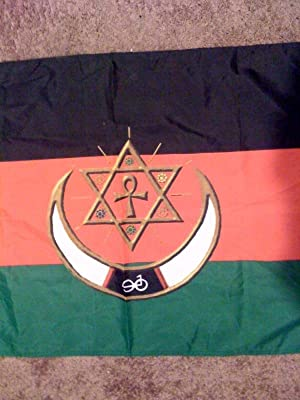 Nuwaubian Flag 2'x3': Malachi York