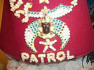 EGYPT PATROL FEZ: Noble Drew Ali,Malachi York,Shriner,Mason,Moor,Islam,Five Percenter,Mohammed,...
