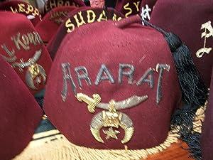 ARARAT FEZ: DAN BROWN,ALBERT PIKE,JUNG,FREUD,Noble Drew Ali,Malachi York,Shriner,Mason,Moor,Islam,...
