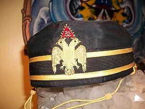 32 DEGREE HAT: Noble Drew Ali,Malachi York,Shriner,Mason,Moor,Islam,Five Percenter,Mohammed,...