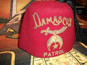 DAMASCUS FEZ: Noble Drew Ali,Malachi York,Shriner,Mason,Moor,Islam,Five Percenter,Mohammed,Clarence...