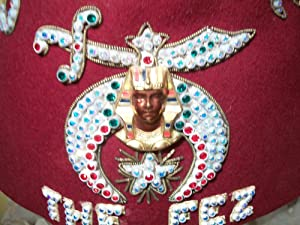 FEZ SALAAM THE FEZ: Noble Drew Ali,Malachi York,Shriner,Mason,Moor,Islam,Five Percenter,Mohammed,...
