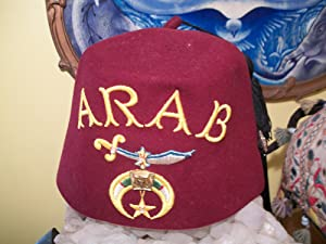 FEZ ARAB: Noble Drew Ali,Malachi York,Shriner,Mason,Moor,Islam,Five Percenter,Mohammed,Clarence 13x...