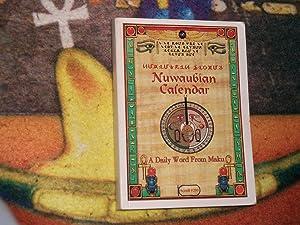 Nuwaubian Calendar A Daily Word From Maku: York, Malachi