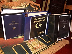 The Golden Volumes-The Holy Tablets ,Degrees of Muhammad-ism and Christ-ism .Together: York, ...
