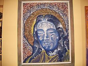 YOGANANDA Autobiography oil painting: Peter Potoma