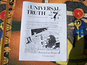 THE UNIVERSAL TRUTH volume 2 number5: Prince A Cuba,Clarence