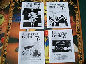 THE UNIVERSAL TRUTH volume 2 number 3, 4, 5, and 6