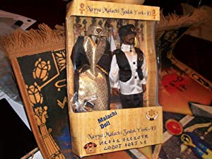 Malachi York Doll w/ Formal Clothes: Malachi York Clarence 13x Elijah Muhammad
