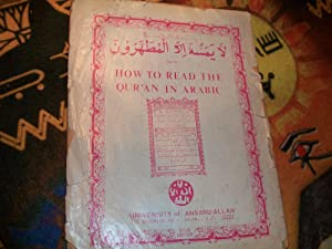 HOW TO READ THE QUR'AN IN ARABIC: Malachi York