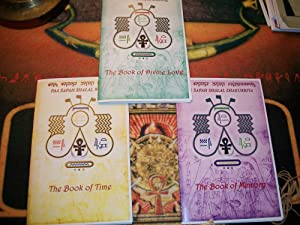 3 Books , The Book of Time, Divine Love,and Memory: Malachi York