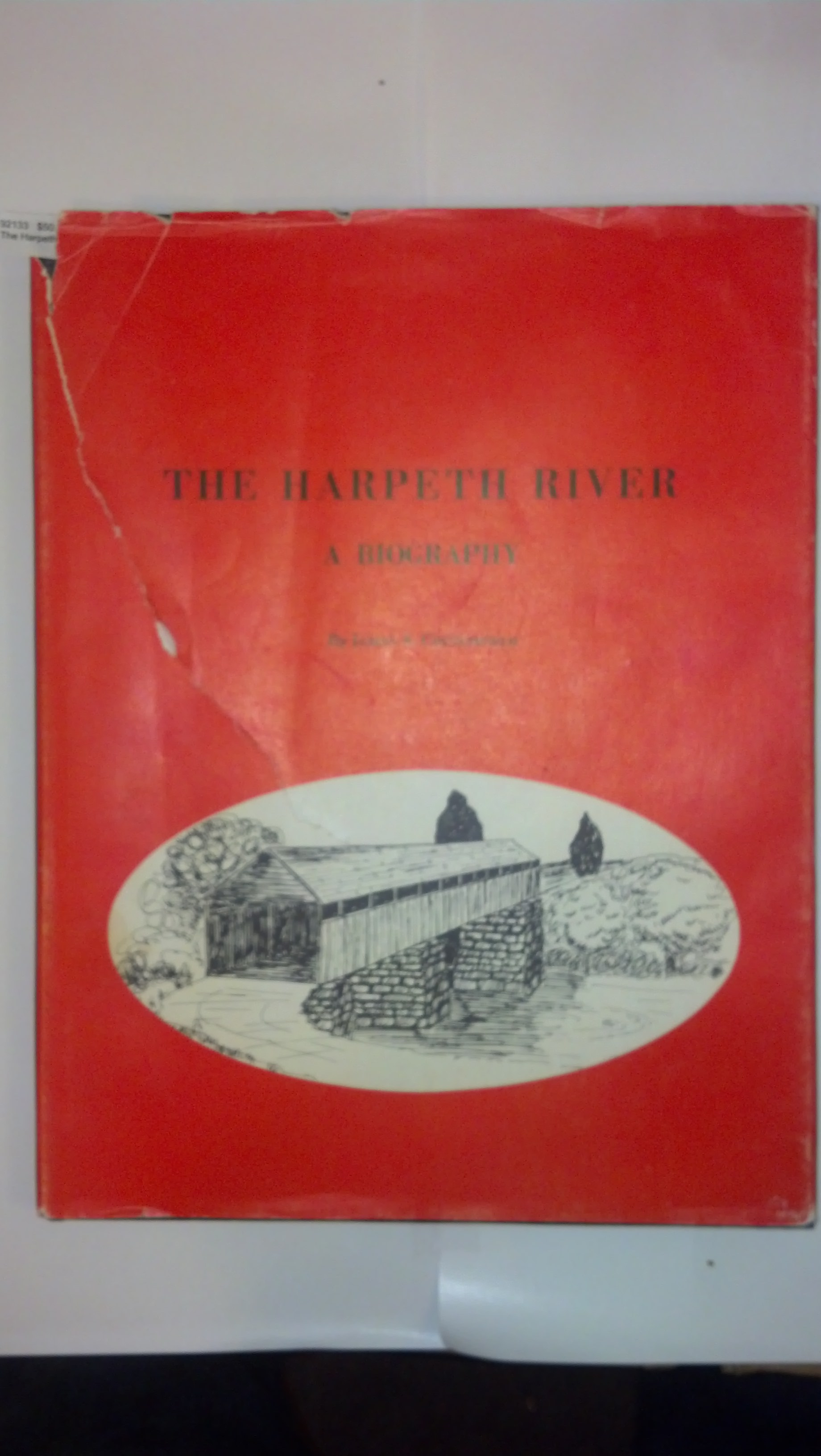 The Harpeth River, A Biography Crutchfield, James A. Hardcover VERY-GOOD HARDBACK IN MOSTLY GOOD DUSTJACKET BUT WITH A LONG BUT NEATLY MENDED TEAR (IN FRONT, AS PICTURED) AND SOME EDGE CHIPS TO DUSTJACKET AS WELL
