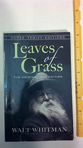 Leaves of Grass: The Original 1855 Edition: Whitman, Walt