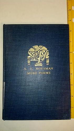 More Poems: Housman, A. E.