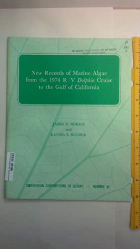 New Records of Marine Algae from the: Norris, James N.;