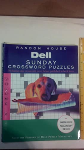 Dell Sunday Crossword Puzzles, Volume 2 (Other): Editors, Dell Mag