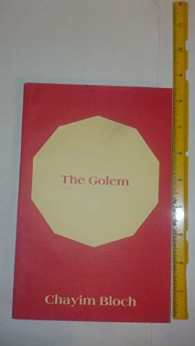 Golem : Legends of the Ghetto of: Bloch, Chayim