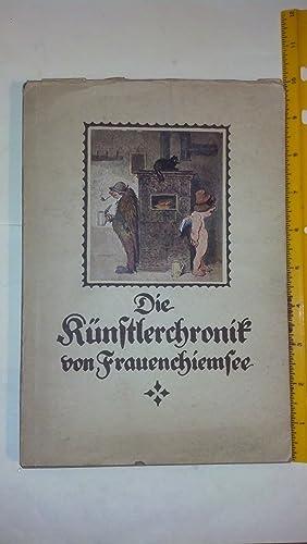 Die K|Nstlerchronik Von Frauenchiemsee: Raupp Karl, Franz Wolter (Hrsg. )