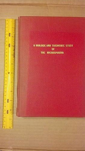 A Biologic and Taxonomic Study of The Microsporidia: Kudo, Roksabro