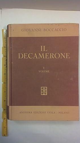 Il Decamerone con illustrazioni del secolo XVIII Volume I: Boccaccio, Giovanni; Pizzinelli, C --...