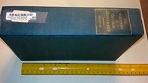 The Writings of Thomas Jefferson, Vols. V-VI (Covers European Mission, 1784 - 1789): Jefferson, ...