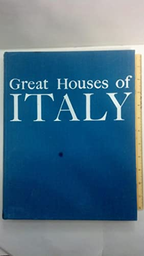 Great Houses Of Italy: Editors of Realites; Giono, Jean --Preface