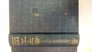 George Lincoln Burr: His Life; Selections From: Burr, George Lincoln;