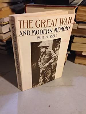 The Great War and Modern Memory (Galaxy Books)