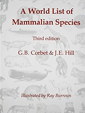 A World List of Mammalian Species (Natural History Museum publications)