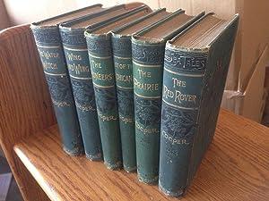 James Fenimore Cooper 'Cooper's Novels' Six Volume Set: The Pioneers, The Water ...