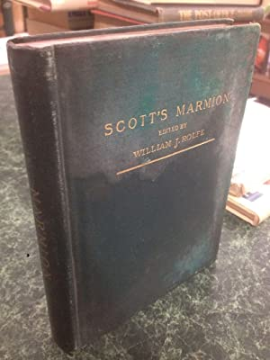 MARMION: Scott, Sir Walter