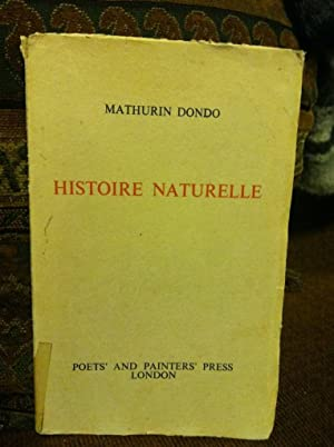 Histoire Naturelle-Natural History by Dondo, Mathurin: Dondo, Mathurin