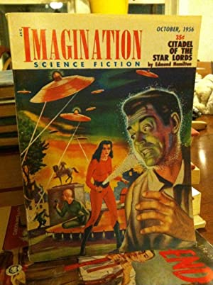 Imagination Science Fiction-October, 1956-Volume 7, Number 5-Featured Story: Citadel of the Star ...