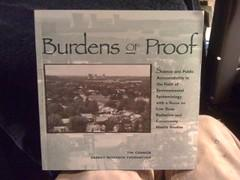 Burdens of Proof: Science & Public Accountability in the Field of Environmental Epidemiology ...