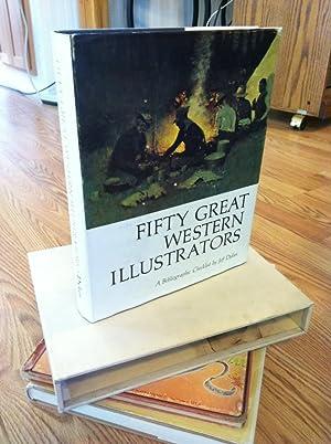 Fifty Great Western Illustrators by Dykes, Jeff: Dykes, Jeff