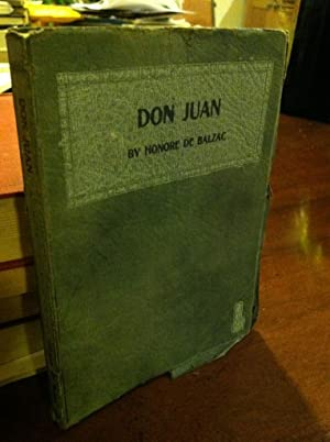 Don Juan: Balzac, Honore De